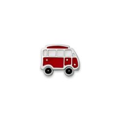 Серебряный значок «Автобус»
