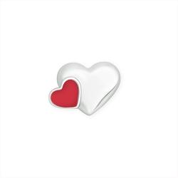 Серебряный значок «Сердечки»