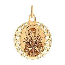 Иконка Божией Матери Семистрельная SOKOLOV