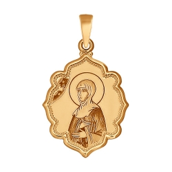 Иконка Святая Преподобная Аполлинария SOKOLOV