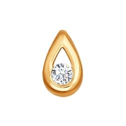 Подвеска из золота с бриллиантом SOKOLOV