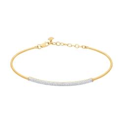 Золотой браслет с бриллиантами SOKOLOV