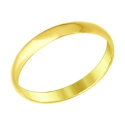 Кольцо из желтого золота SOKOLOV