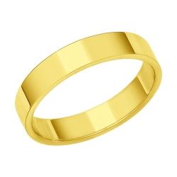 Обручальное кольцо из желтого золота SOKOLOV Wedding