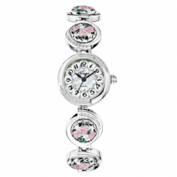 Часы с драг. металлом Flora Букет-2, кварцевые
