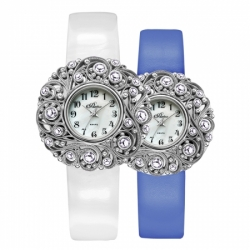 Часы с драг. металлом Flora Ариадна-1, кварцевые