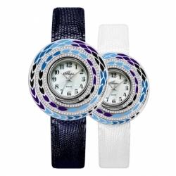 Часы с драг. металлом Flora Василина-2, кварцевые