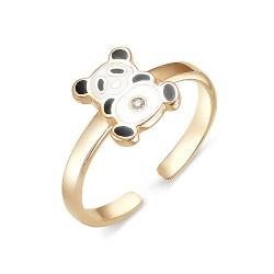 Детское кольцо из золота с бриллиантами