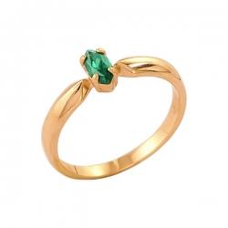 Кольцо из золота 585 пробы с алпанитом