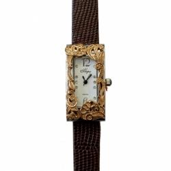 Часы с драг. металлом Flora Сказка, кварцевые