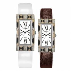 Часы с драг. металлом Flora Новелла-2, кварцевые