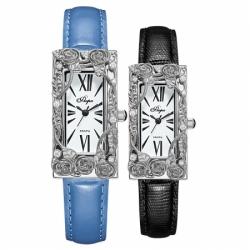 Часы с драг. металлом Flora Ванесса-1, кварцевые