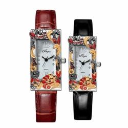 Часы с драг. металлом Flora Сказка-1, кварцевые