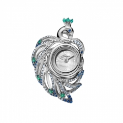 Часы-перстень серебряный Flora Жар-Птица