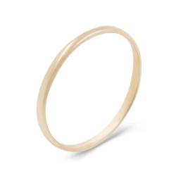Классическое обручальное кольцо из золота