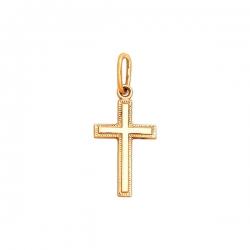 Крест из золота 585 пробы