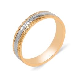 Обручальное кольцо из золота 585 пробы