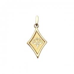 Подвеска знак зодиака Весы из золота 585 пробы