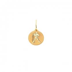 Подвеска знак зодиака Водолей из золота 585 пробы