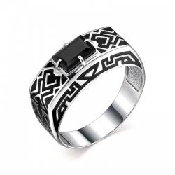 Кольцо печатка для мужчин Орнамент