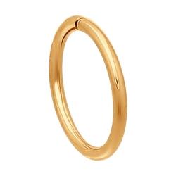 Золотая одна серьга без камней SOKOLOV