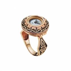 Часы-перстень серебряный Flora Афина