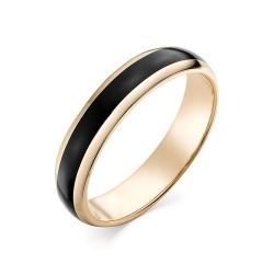 Обручальное кольцо с керамикой