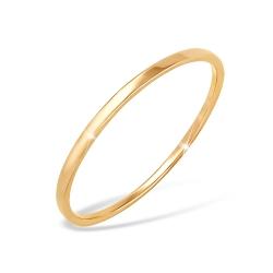 """Кольцо """"Символ"""" из красного золота 585 без вставок"""