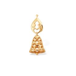 """Подвеска """"Символ"""" из красного золота 585 без вставок"""