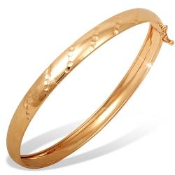 Браслет из красного золота 585 без вставок