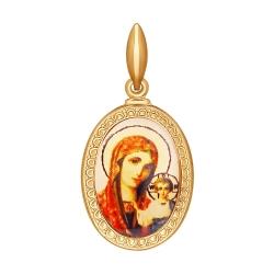 Иконка Божией Матери Казанская SOKOLOV