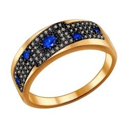 Кольцо из золота с сапфиром SOKOLOV