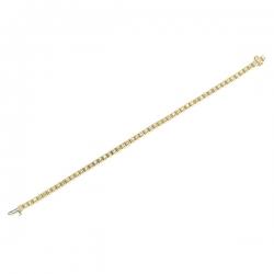 Браслет из золота 585 пробы с бриллиантами