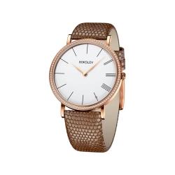 Женские золотые часы с бриллиантами Harmony