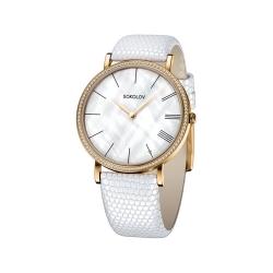 Женские золотые часы с бриллиантами