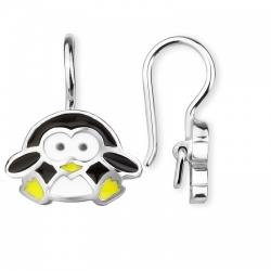 Серьги для девочек Пингвинчики
