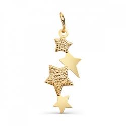 Золотая подвеска Звезды