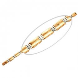 Золотой браслет (без вставок)