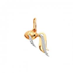 Подвеска Рыбка из золота 585 пробы