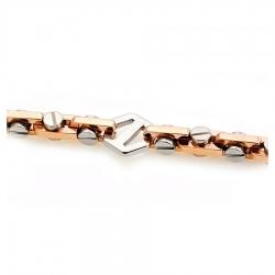 Т-12549 мужская золотая цепочка