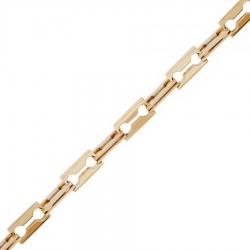 Стильная мужская золотая цепочка