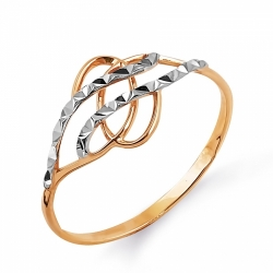 Золотое кольцо без камней