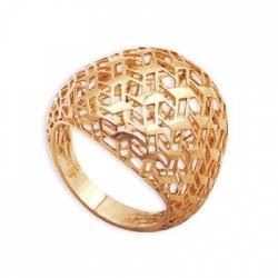 Золотое кольцо Ажур без камней