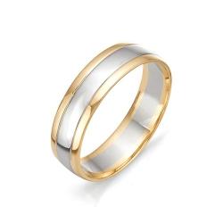 Обручальное кольцо шириной 6 мм.