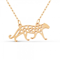 Золотое колье Леопард