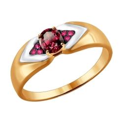 Золотое кольцо (Рубин) SOKOLOV