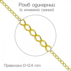 Цепочка из желтого золота