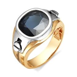 Мужское перстень с огромным сапфиром