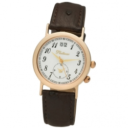 Мужские золотые часы Platinor коллекции «Шанс»