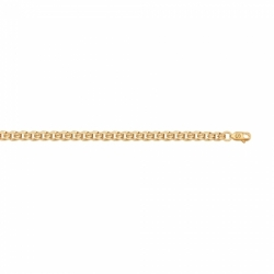 Золотая цепочка Sokolov плетение Бисмарк